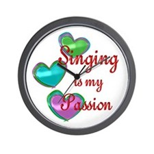Singing Passion Wall Clock