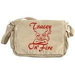Tracey On Fire Messenger Bag