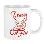Tracey On Fire Mug