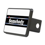 Custom Identity Rectangular Hitch Cover