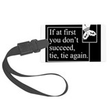 Tie Tie Again Luggage Tag