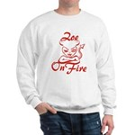 Zoe On Fire Sweatshirt