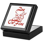 Zoe On Fire Keepsake Box