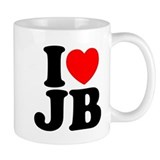 I LOVE JB Mug