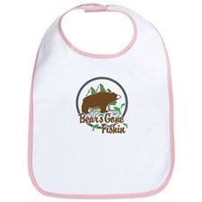 Bear's Gone Fishin' Bib