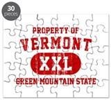 Property of Vermont, Green Mountain State Puzzle