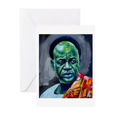 Kwame Nkrumah Greeting Card