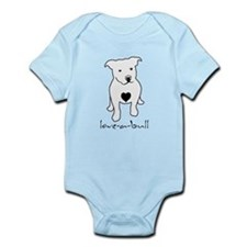 love-a-bull_light Body Suit