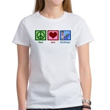 Peace Love Psychology Tee