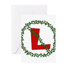 No L, Noel Greeting Card
