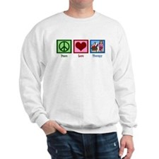 Peace Love Therapy Sweatshirt