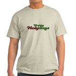 Happy Holidays Religious Christmas Light T-Shirt