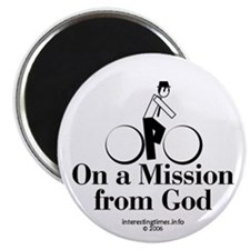 on a mission Magnet