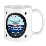 Artificial Horizon (white) Small Mug