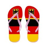 German Germany Deutschland Flip Flops