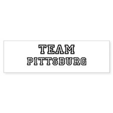 Team Pittsburg Bumper Bumper Sticker