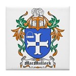 MacMullock Coat of Arms Tile Coaster
