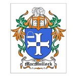 MacMullock Coat of Arms Small Poster
