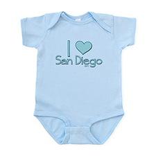 I heart San Diego Infant Bodysuit