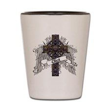 Elliot Tartan Cross Shot Glass