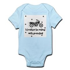Cute Biker Infant Bodysuit
