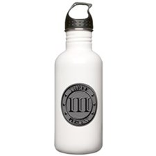 Three Percent Silver Water Bottle