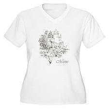 Maine Nubble Lighthouse T-Shirt