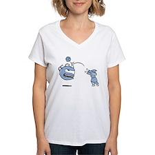 Bop! Women's V-Neck T-Shirt