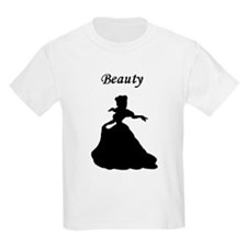 beauty and beast center T-Shirt