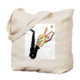 alto sax Tote Bag