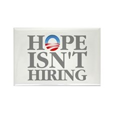 Hope Isnt Hiring Rectangle Magnet