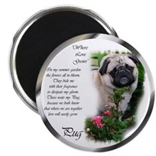 "Pug Gifts 2.25"" Magnet (100 pack)"