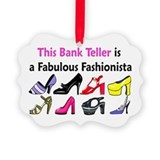 BANK TELLER Ornament