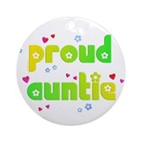 Proud Auntie Ornament (Round)