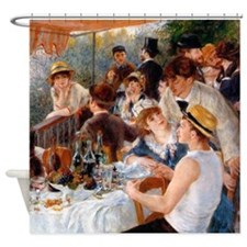 Renoir Luncheon Of The Boating Party Shower Curtai