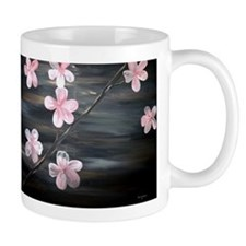 Abstract Cherry Blossom Floral Mug