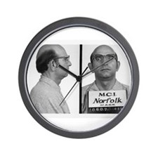 Mug Shot Wall Clock