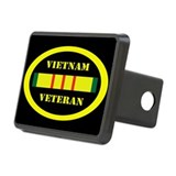 Vietnam Veteran Rectangular Hitch Cover