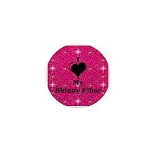 I Love My Skinny Fiber Mini Button (10 pack)