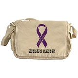 TEAM BLAKE KICKING CANCER Messenger Bag