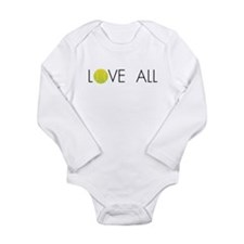 Unique Tennis baby Long Sleeve Infant Bodysuit