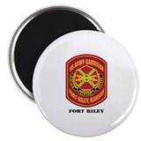 Fort Riley with Text Magnet