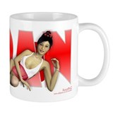 PINUP MUG - Girls of the World (Japan)
