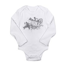 Drift Trike Scramble Long Sleeve Infant Bodysuit