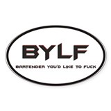 BYLF Oval Decal