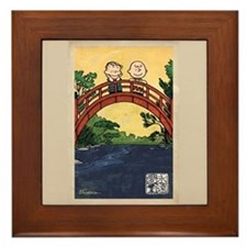 Serenity Stream Framed Tile