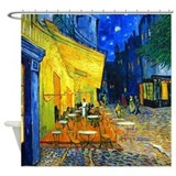 Van Gogh - Cafe Terrace Shower Curtain