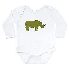 rhino_green Body Suit