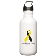 PTSD & TBI Awareness Water Bottle