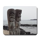 Place of Refuge Tikis Mousepad